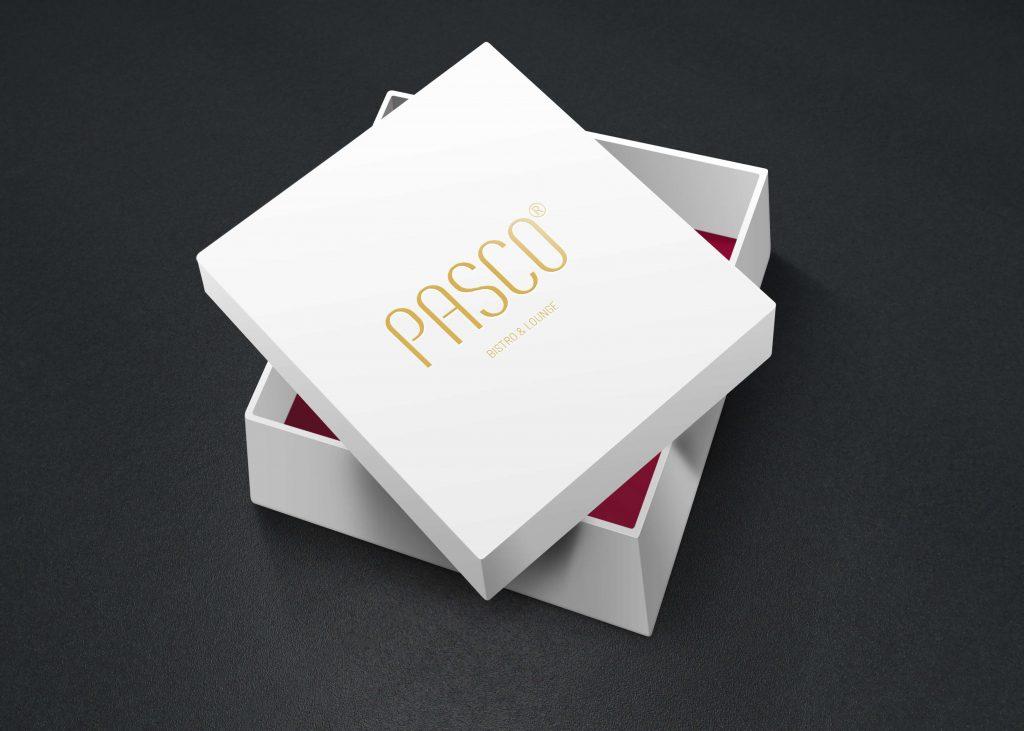 Pasco box gift white