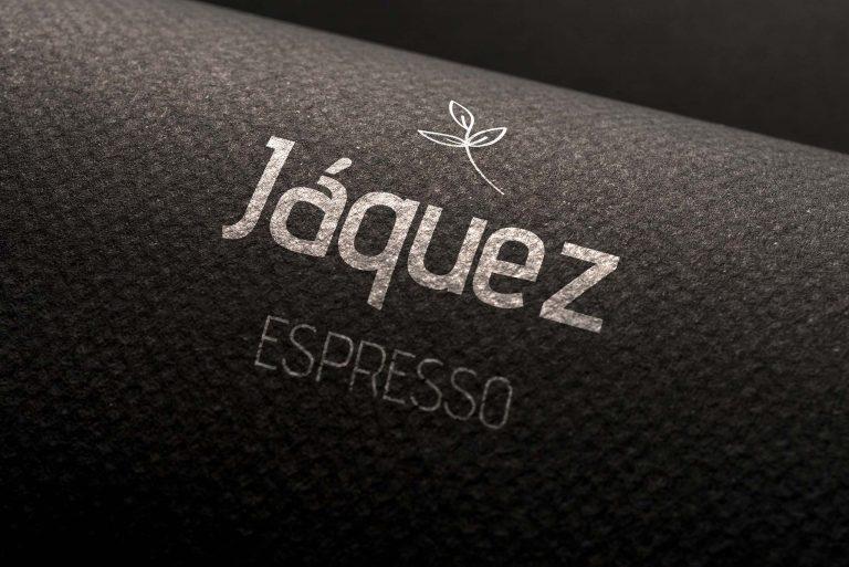 Jáquez Expresso Coffee Logo Print In