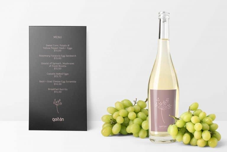 Gaitan Wine Label